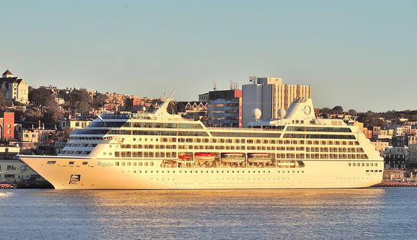 Cruise Ship in St. John's Harbour, NL, CA