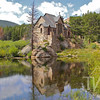 """""""chapel on the rock"""" at Camp St. Malo by the Lily Lake area of Rocky Mountain National Park"""