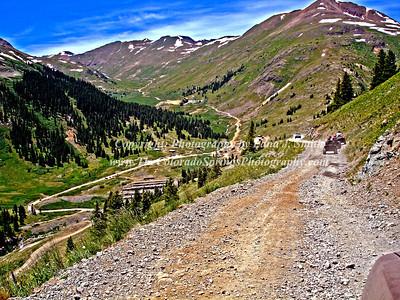 CO mountain roads