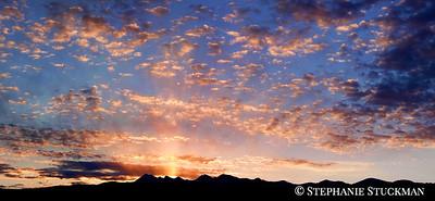 Sunrise over the La Plata Mountains