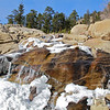 Alluvial Falls, early fall , Rocky Mountain N.P.
