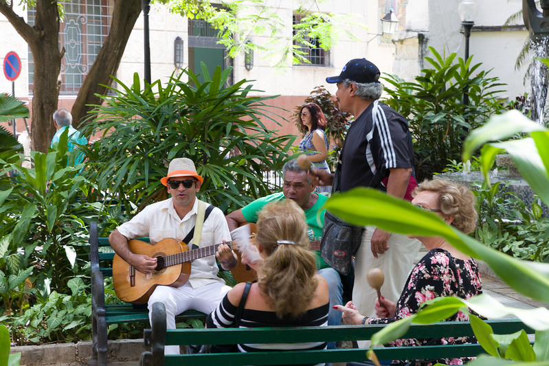 Music on the Street  in Old Havana
