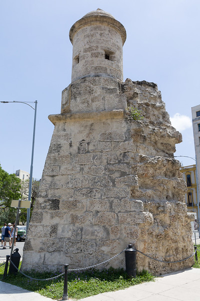 Old Havana Wall section