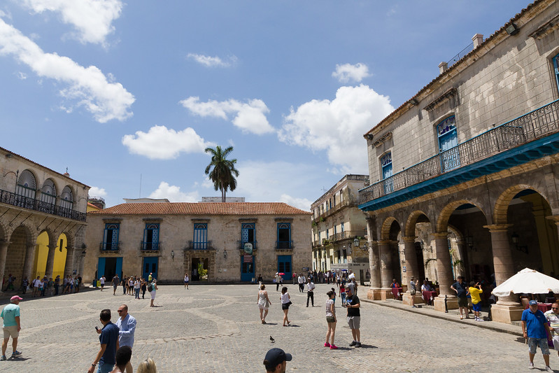 We visited a square near el Rum Rum where we had lunch