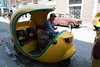 These 3-wheeled taxis were fairly common in Havana
