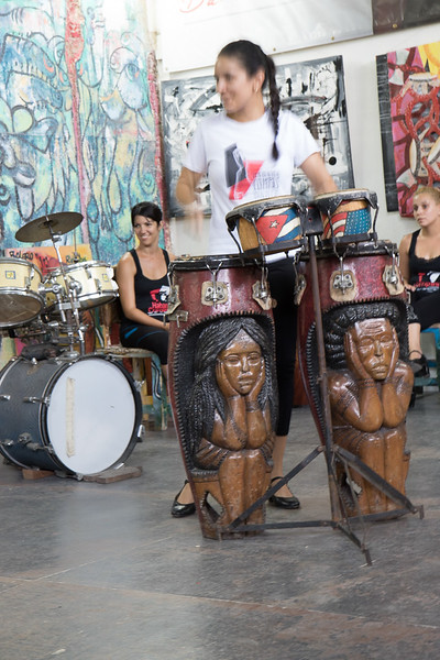 Even the drums are very artistic
