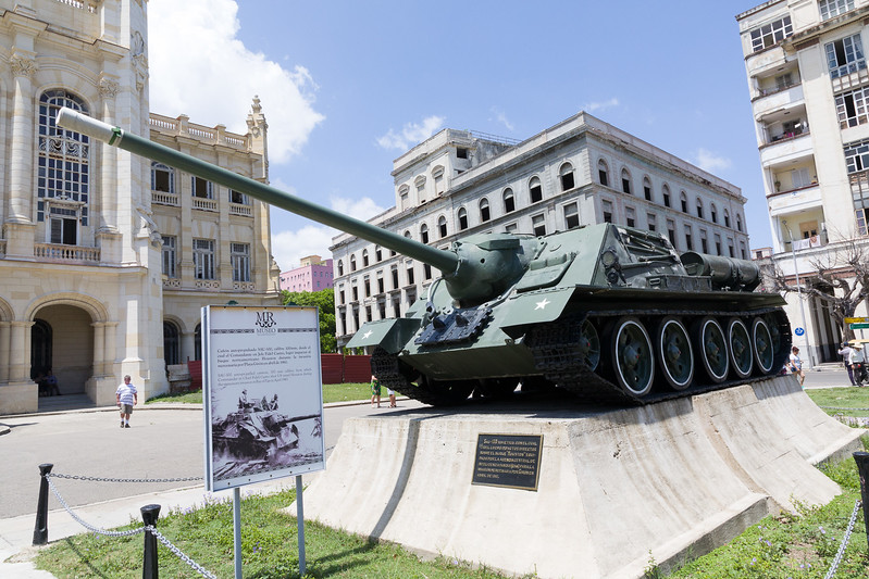 Tank used during the revolution