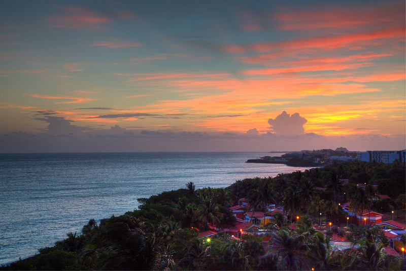 Sunrise in Varadero