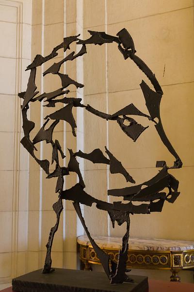Stalin Figure in Metal