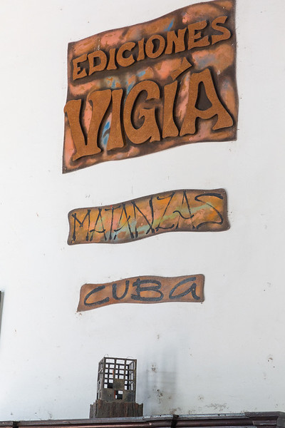 Ediciones Vigia is book making shop where all items are made by hand
