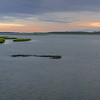 Sunrise Panorama, Chincoteague Marsh