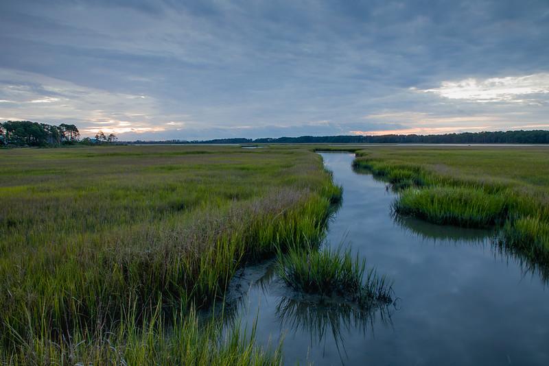 Sunrise #4 Chincoteague Marsh