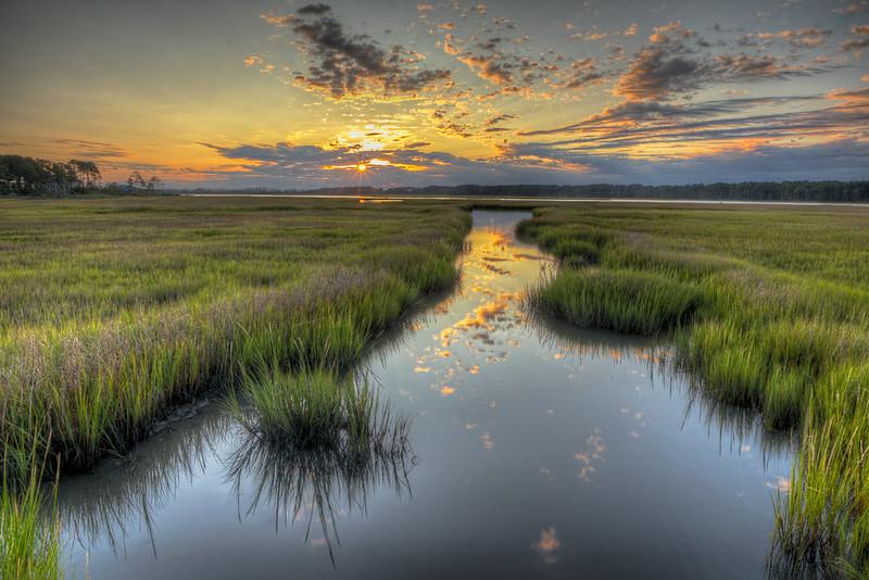 Sunrise #1, Chincoteague Marsh