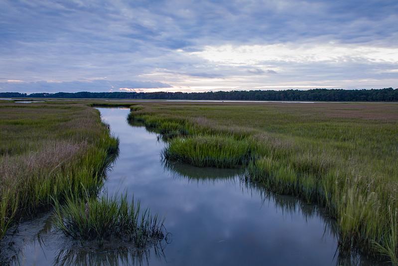 Sunrise #3, Chincoteague Marsh