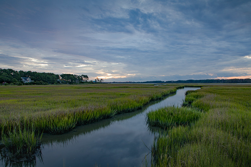 Sunrise #5, Chincoteague Marsh