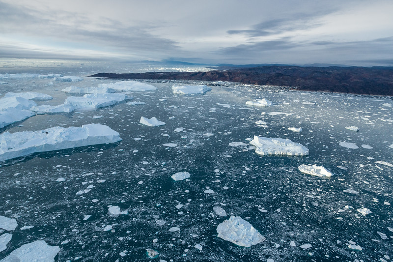 Illulissat Ice Fjord Arial View II