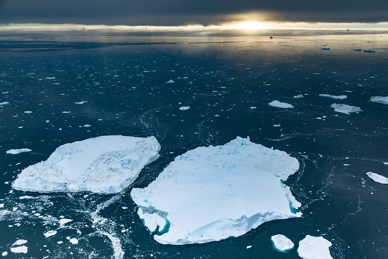 Illulissat Ice Fjord Arial View III