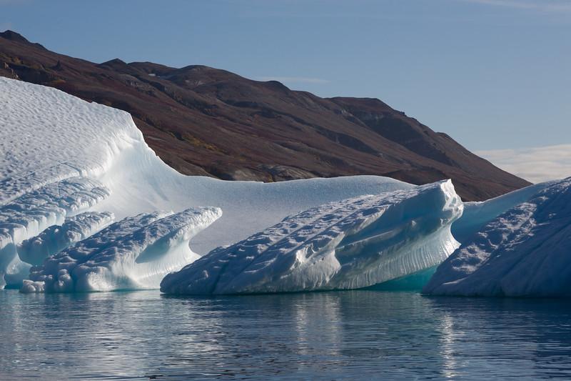Curved Iceberg