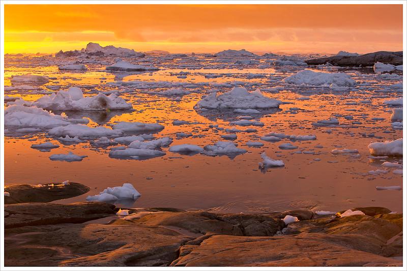 Sunset in Ilulissat II