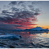 Sunset in Disko Bay