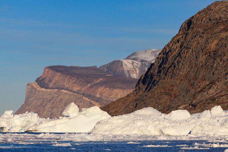 Icebergs and Ridges