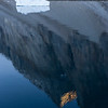 Iceberg with Cliff Reflection