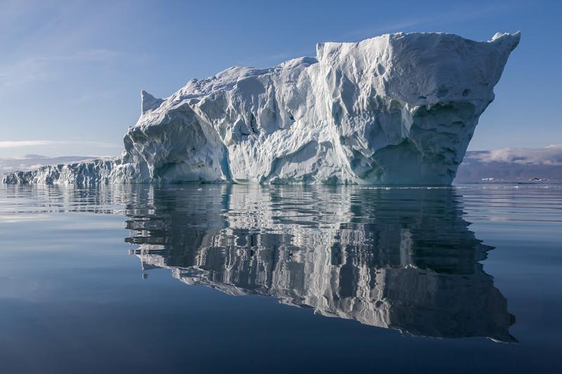 Calving Iceberg