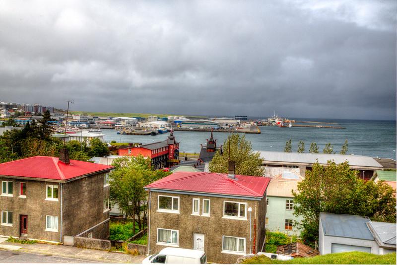 Hafnarfjordur harbor