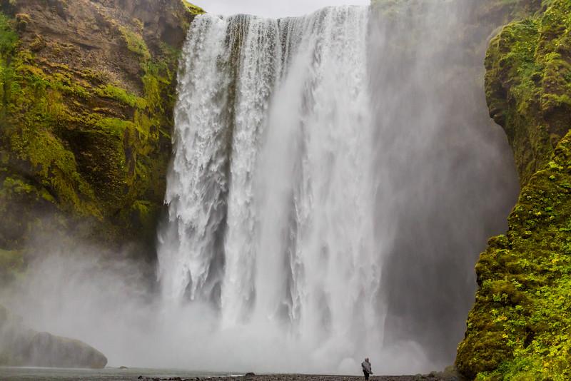 Skagafoss waterfall, Iceland