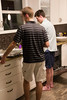 6342 Guys in the kitchen cleaning up 1
