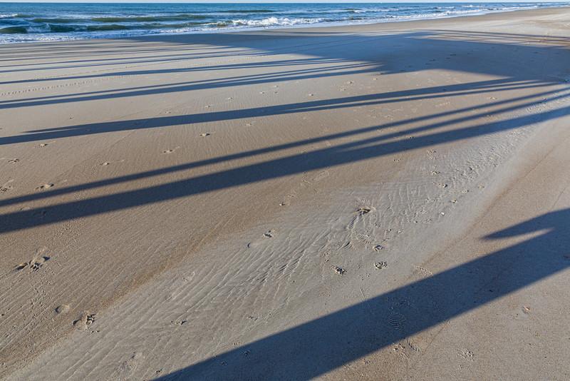 Shadows on the Beach