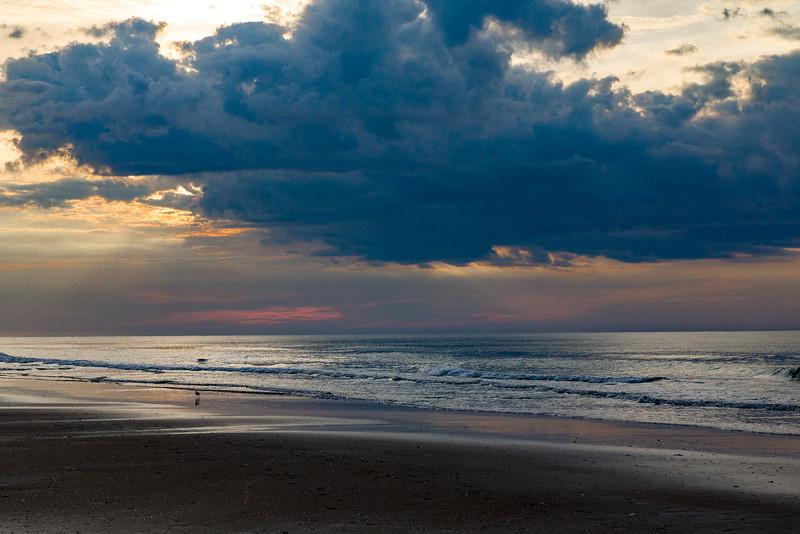 Sunrise With Black Cloud I
