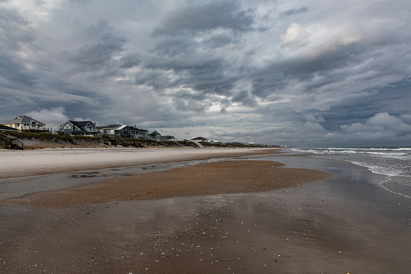 South Topsail Beach at Low Tide