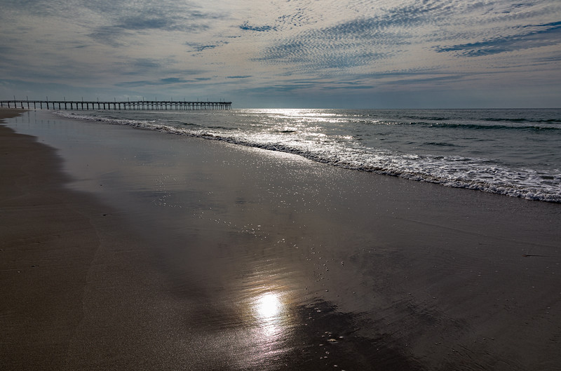 South Topsail Pier Sunrise Reflections V