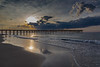 South Topsail Pier Sunrise Reflections I