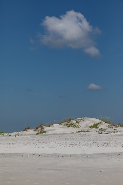 Dune With Cloud