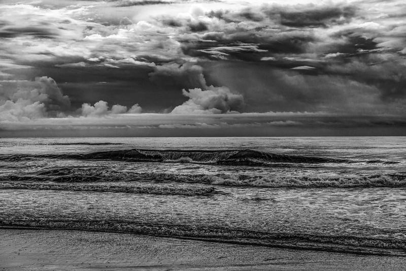 Dramatic Surf & Sky