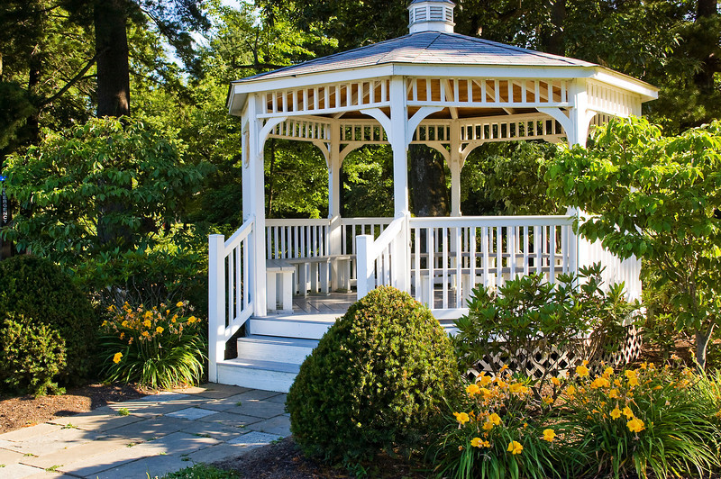 gazebo at Grove City College