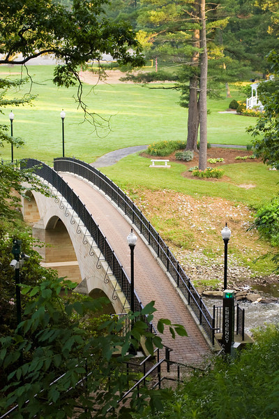 Rainbow bridge at Grove City College