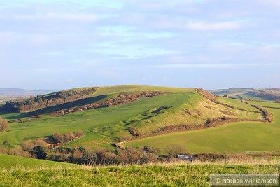 View from St Catherine's Chapel, Abbotsbury  05/12/14