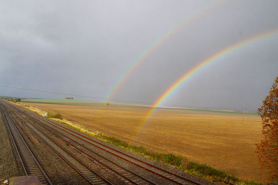 Rainbow at Cholsey 19/10/11