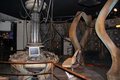 Interior of The Tardis