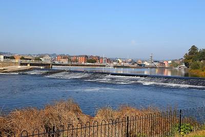River Exe Weir