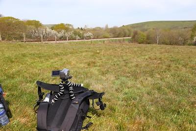 Gorilla Pod on a bag near Corfe Castle  06/05/16