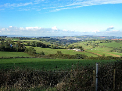 View from Great Hill, looking towards Bishopsteignton  15/10/13