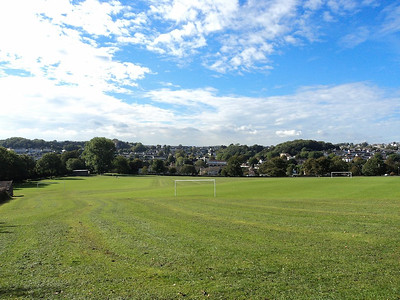 King George V playing fields in Torquay  15/10/13