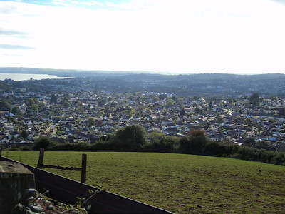 View from Great Hill (590 feet) overlooking Torquay  15/10/13