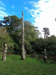 Brunel Woods statue's   15/10/13