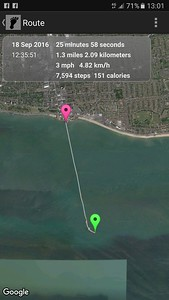 Walking the length of Southend Pier  18/09/16