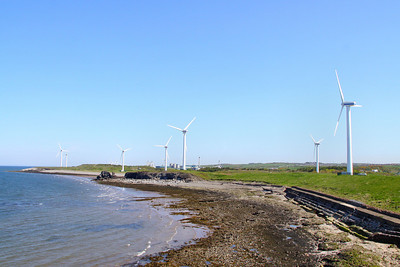 Siddick, in Workington, the shores of the Irish Sea 28/04/11